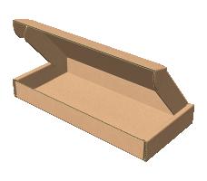 "Самосборная коробка 170х80х20 мм, Т-22 ""Е"" бурый"