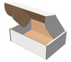 "Самосборная коробка 180х130х60 мм, Т-22 ""Е"" белый"