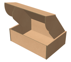 "Самосборная коробка 180х130х60 мм, Т-22 ""Е"" бурый"
