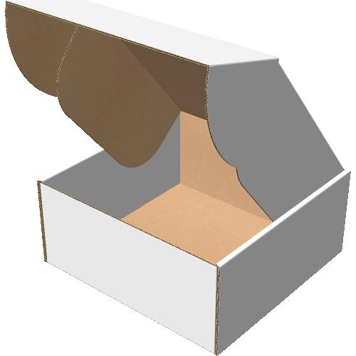 """Самосборная коробка 200х200х90 мм, Т-22 """"В"""" белый"""