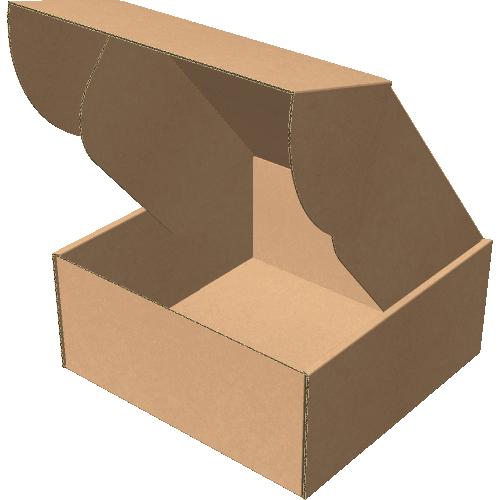 "Самосборная коробка 200х200х90 мм, Т-22 ""В"" бурый"