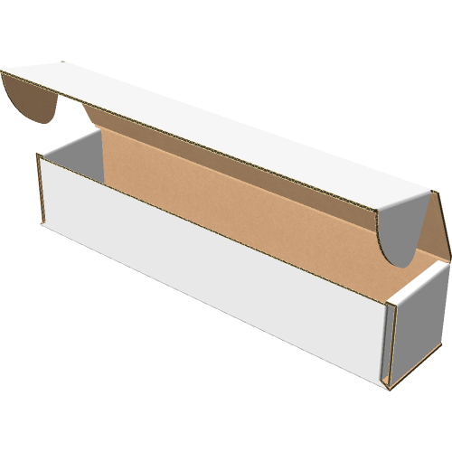 "Самосборная коробка 200х40х40 мм, Т-22 ""Е"" белый"