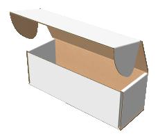"Самосборная коробка 200х70х70 мм, Т-22 ""Е"" белый"