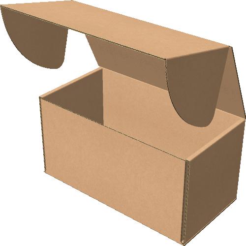 "Самосборная коробка 210х110х110 мм, Т-22 ""Е"" бурый"