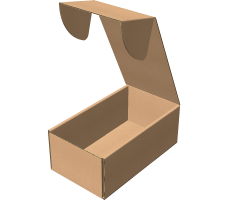 "Самосборная коробка 216х401х153 мм, Т-22 ""В"" бурый"
