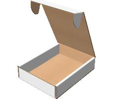 """Самосборная коробка 223х305х68 мм, Т-22 """"В"""" белый"""