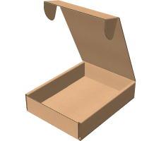 "Самосборная коробка 223х305х68 мм, Т-22 ""В"" бурый"