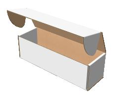 "Самосборная коробка 226х70х70 мм, Т-22 ""Е"" белый"