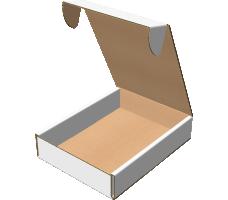"""Самосборная коробка 232х317х65 мм, Т-22 """"В"""" белый"""