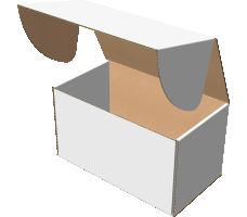 "Самосборная коробка 250х140х140 мм, Т-22 ""Е"" белый"