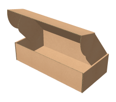 "Самосборная коробка 320х100х70 мм, Т-22 ""Е"" бурый"