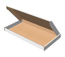 "Самосборная коробка 320х170х25 мм, Т-22 ""Е"" белый"