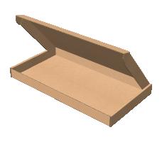 "Самосборная коробка 320х170х25 мм, Т-22 ""Е"" бурый"