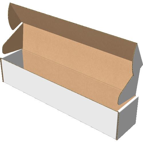 """Самосборная коробка 320х65х65 мм, Т-22 """"В"""" белый"""