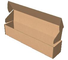 "Самосборная коробка 320х65х65 мм, Т-22 ""В"" бурый"