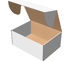 "Самосборная коробка 340х250х150 мм, Т-22 ""Е"" белый"