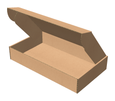 "Самосборная коробка 352х202х62 мм, Т-22 ""Е"" бурый"