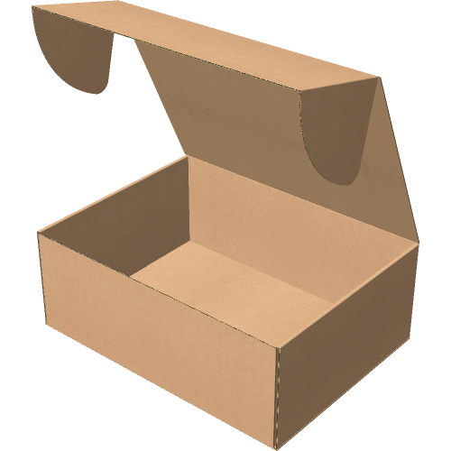 "Самосборная коробка 400х300х150 мм, Т-22 ""Е"" бурый"