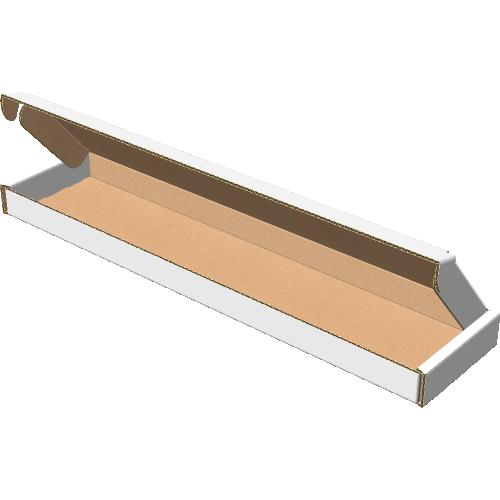 """Самосборная коробка 530х120х30 мм, Т-22 """"В"""" белый"""